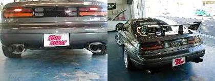 (2004年)アブフラッグブリスター!GT2530ツイン!Z32型フェアレディZ&2JZエンジン換装Z32フェアレディZの動画