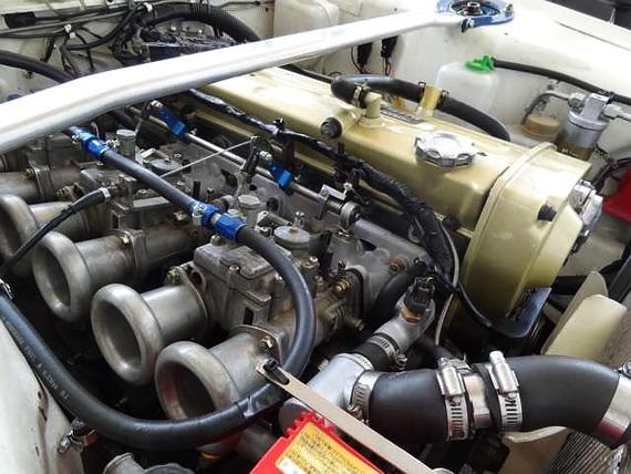 ソレックスキャブ仕様RB20エンジン公認ハコスカ2ドア20130620_4