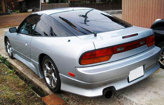 国内販売物件!!希少逆輸入!日産240SX(MS13型)&当時1998年Y10型ウイングロードのCM動画