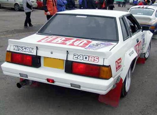 (海外)ホモロゲ!希少WRCラリーマシン!!日産240RS&日産ギャラリー展示!240RSの動画