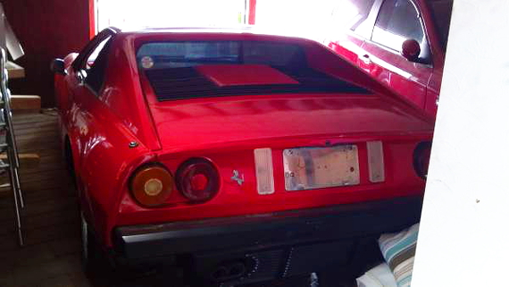 ポンティアックメラ?部品取り車フェラーリ308レプリカ&V8エンジン搭載A31セフィーロの動画