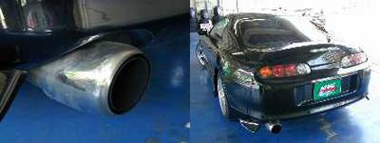 (2004年)RB26DETTエンジン載せ換え!!JZA80型スープラRZ&痛車イベント!痛Gふぇすたinめいほうスキー場2013の静止画動画その1