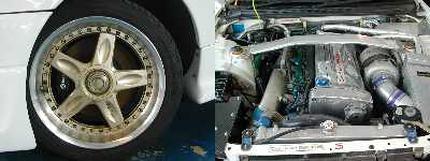 オートサロン出品トップシークレットデモカーR33スカイラインGTR20130701_2