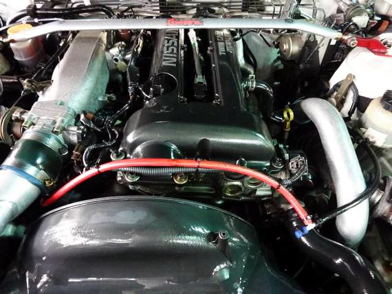 グリーンメタリックワイドボディ仕様S15シルビア20130713_2