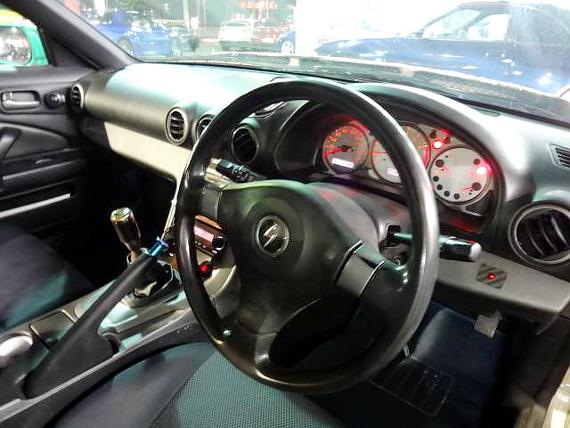 グリーンメタリックワイドボディ仕様S15シルビア20130713_3