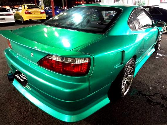 グリーンメタリックワイドボディ仕様S15シルビア20130713_5