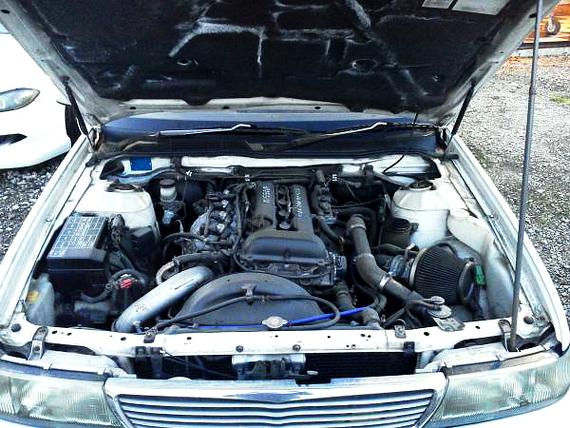 ブラックトップSR20DETエンジン搭載C34型ローレル20130716_2