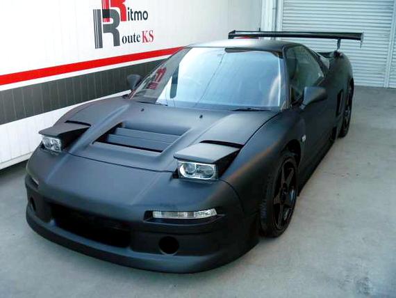 男のエアコンレス!!マットブラック!ホンダNSX(NA1型)&2JZ-GTEエンジン搭載S2000の動画