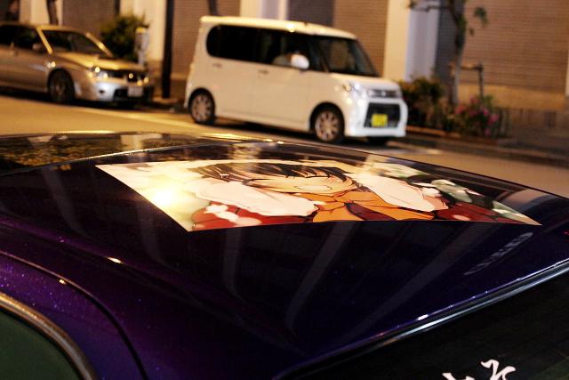 伊藤オート元デモカー八雲仕様痛車JZX90クレスタ20130710_ (13)
