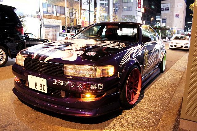 伊藤オート元デモカー八雲仕様痛車JZX90クレスタ20130710_ (4)