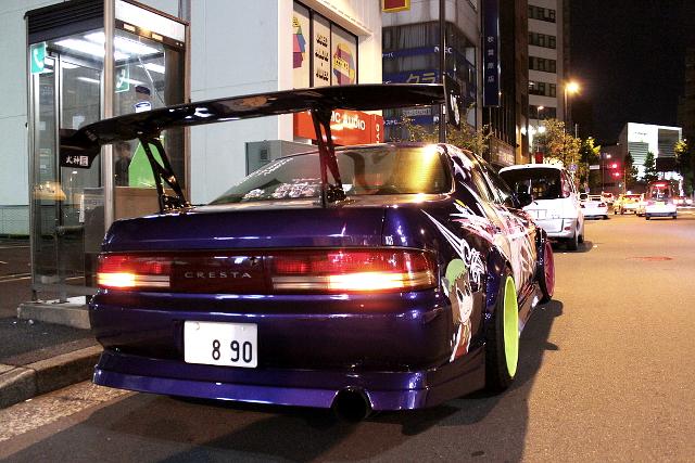 秋葉原!痛車ストリート!やぅたん様「八雲紫・八雲藍仕様」JZX90型クレスタ