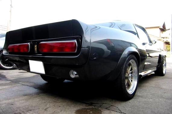映画60セカンズ仕様!マスタングベース!GT500エレノアレプリカ&バニシングin60のチェイスシーン動画