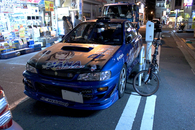 痛車ストリート秋葉原インプ20130719_ (2)