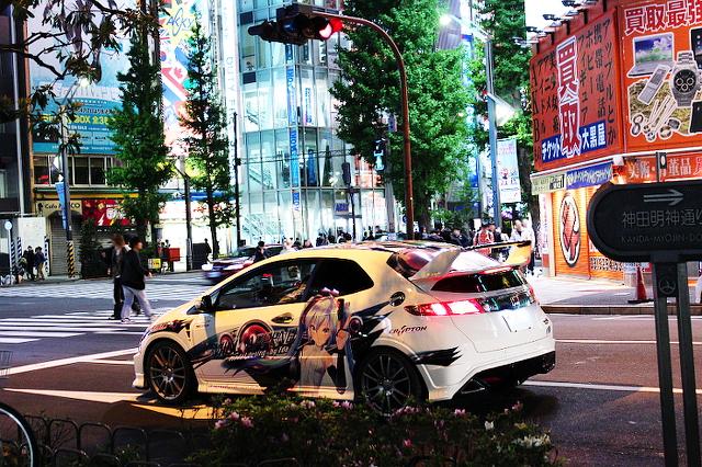 痛車ストリート秋葉原シビックユーロR20130719_1