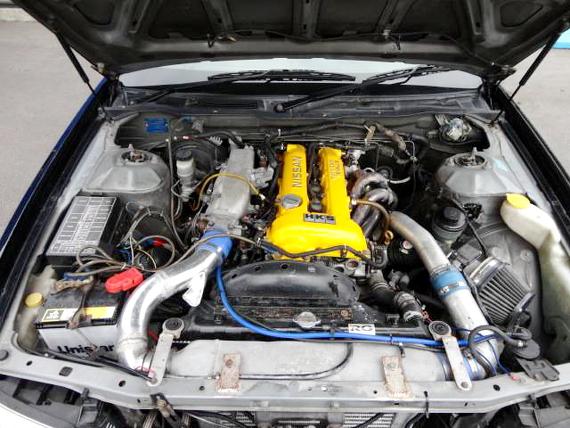 直4ターボセダン化S15用SR20DETエンジン搭載C35ローレル20130719_3