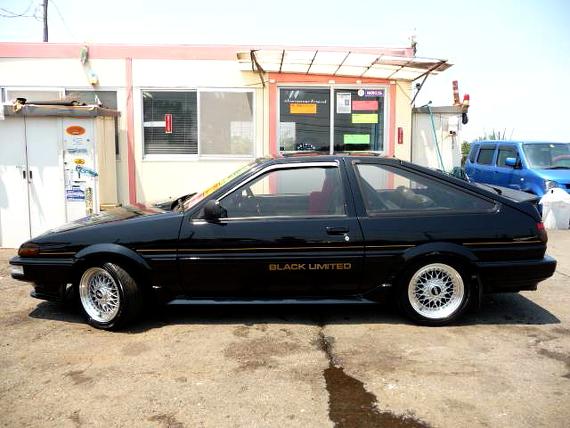 限定車ブラックリミテッドAE86トレノ20130709_2