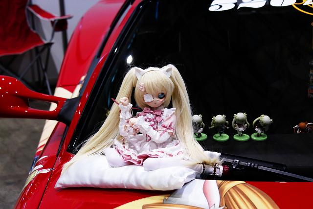 ニコニコ超会議2!痛車!るぃ様・静ティーフェラーリ512TR