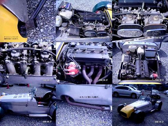 4AGエンジン搭載バーキンスーパーセブン20130719_2
