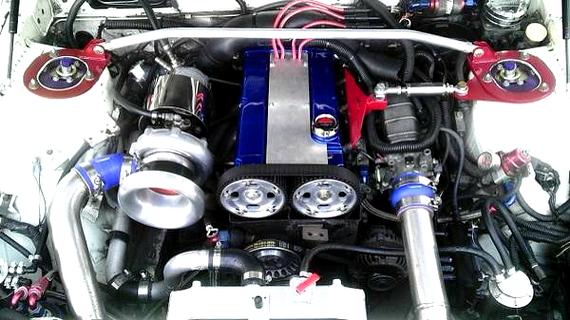 4G63ターボエンジン搭載三菱スタリオン(コンクエスト)20130717_2