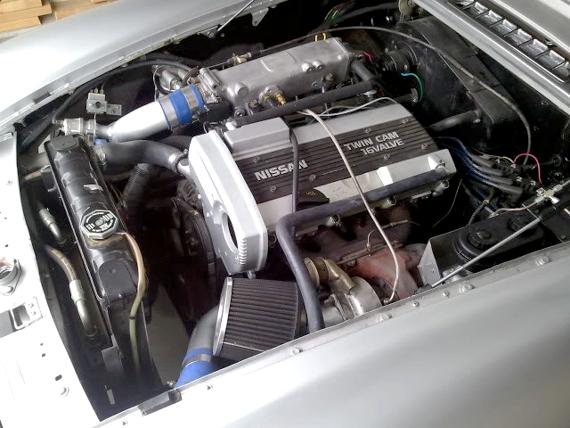 CA18DETエンジン搭載MGBロードスター20130703_3