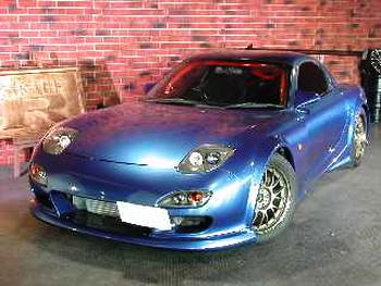 (2004年)ERCフルチューン!ワイドボディ!FD3S系RX-7タイプR&13Bロータリーエンジン換装!MGB・GT・V8の動画