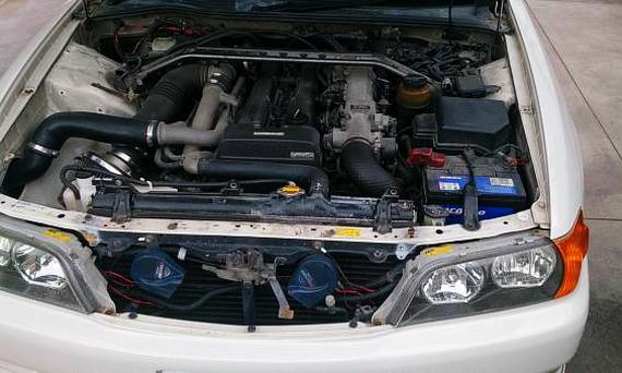 JZX90用1Jターボエンジン換装GX100チェイサー20130707_2