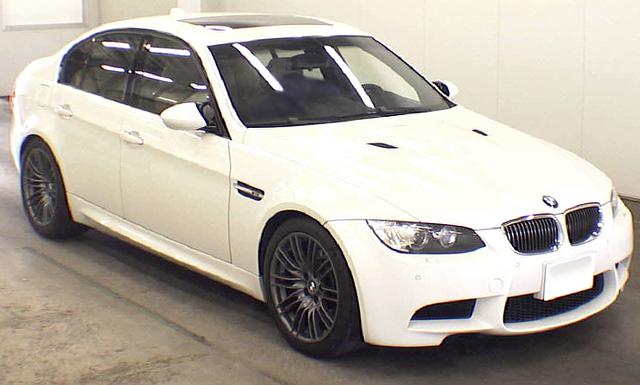 (2013年5月)6速マニュアル!E90型BMW・M3セダンのオークション落札相場