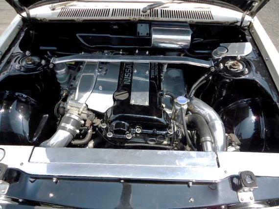SR20エンジン換装510ブルーバードセダン20130708_3