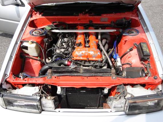 SR20エンジン換装AE86レビン2ドア20130725_2