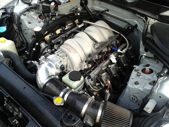 コルベットV8エンジン搭載Z33系日産350Z20130821_2