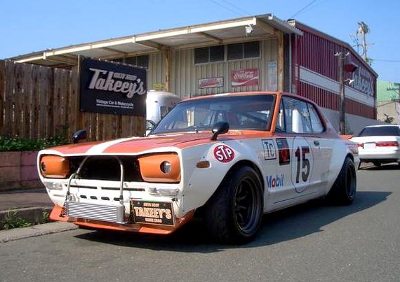 黒沢カラーレーシングカラーKGC10ハコスカR仕様20130809_1