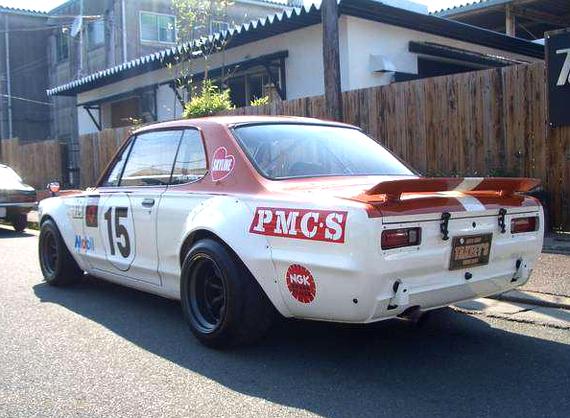 黒沢カラーレーシングカラーKGC10ハコスカR仕様20130809_2