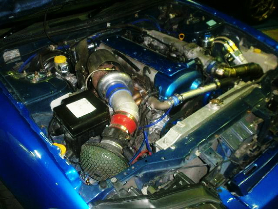 1JZエンジンT67タービンS15シルビアヴァリエッタ20130802_3