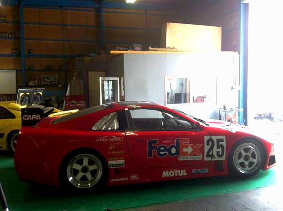 本物GT500マシン影山選手Z32フェアレディZ20130831_2