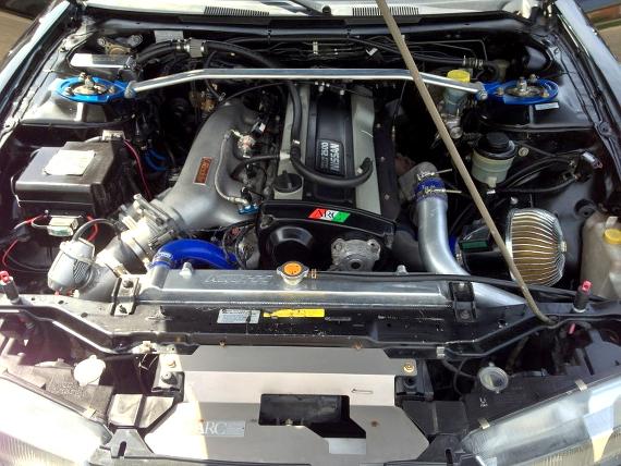 RB25エンジン搭載S14タイプ240SX20130807_3