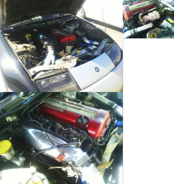 SR20エンジン換装Z32フェアレディZ20130821_3