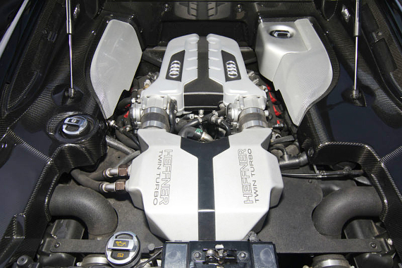 ヘフナーツインターボ仕様アウディR8スーパーカー20130831_4