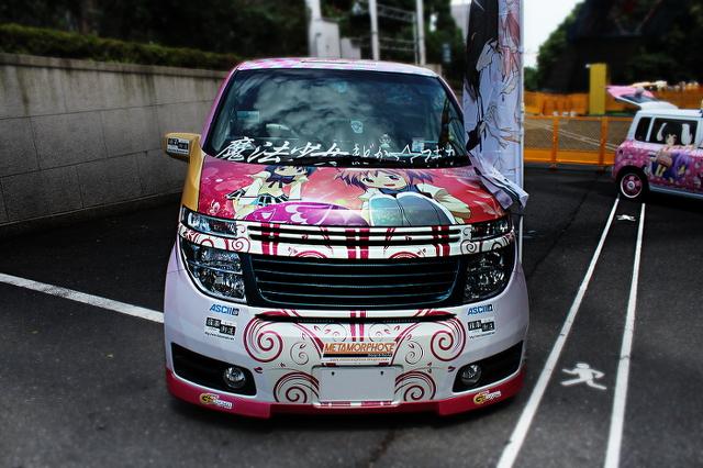 東京タワーコスプレイベント_エルグランド痛車20130724_ (3)