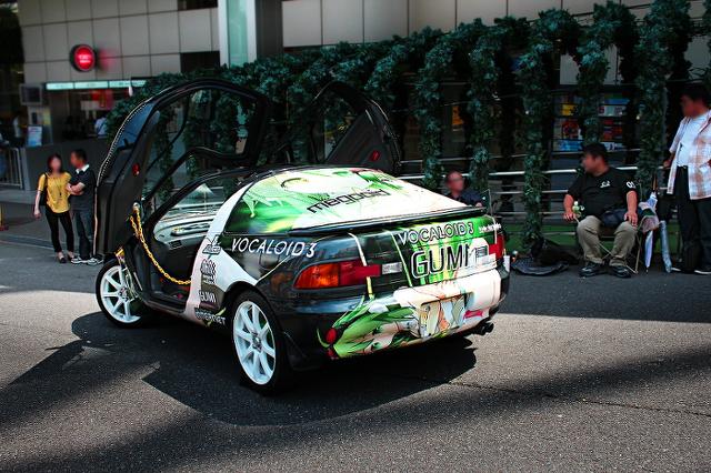 東京タワーコスプレイベント_トヨタセラ痛車メグ20130724_ (3)