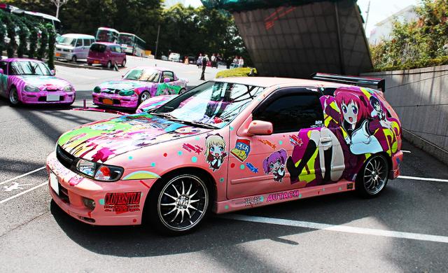 東京タワーコスプレイベント_痛車日産パルサーVZR20130724_  (1)
