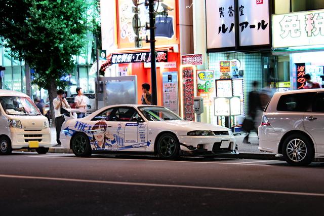 秋葉原アイドルマスター痛車R33スカイラインGTR20130917_1