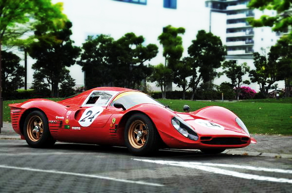国内たったの13台!フェラーリP4再現!希少ノーブルP4&タイ製フェラーリP4レプリカの展示動画