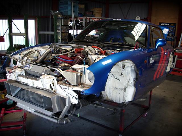300馬力以上!K10Aエンジン換装TO4Eタービン!スズキ・カプチーノ&ムロプロジェクトカプチーノの動画