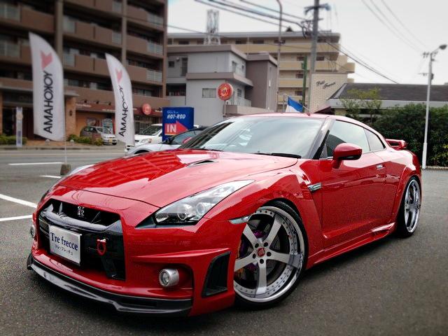 改造費700万円WALDフェンダーR35日産GTR201300908_1