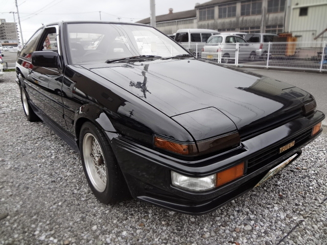 希少400台限定車!AE86型トレノ・ブラックリミテッド&JGTC参戦GT300仕様AE86最後の動画