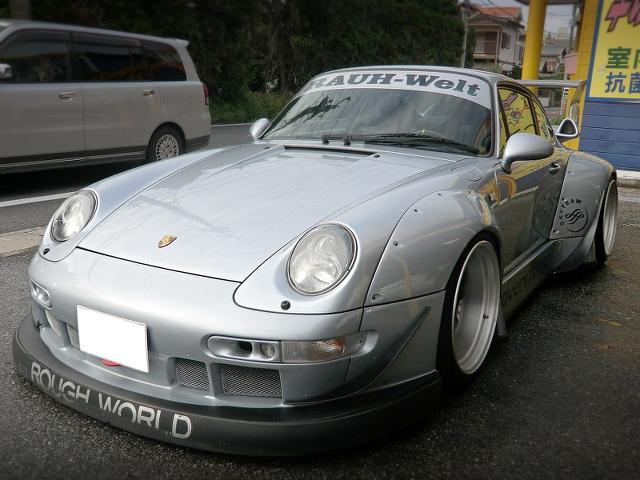 ラウヴェルトスーパーワイド化!993系ポルシェ911カレラ&RWBワイド!964系ルーフBTRの動画