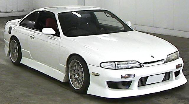 (2013年6月)5速マニュアル換装!前期S14型シルビアK'Sのオークション落札相場