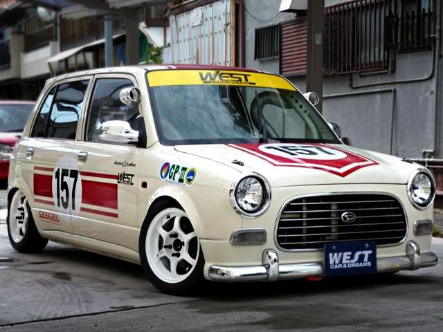 耐久レース仕様ダイハツ初代ミラジーノ20130912_1