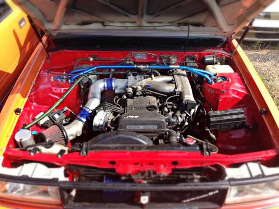 ドリフト2JZGEエンジンGX71チェイサー20130905_2