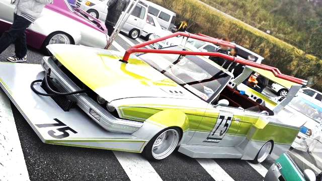 街道レーサー!オープン化ワイドシルエット!GX71マークⅡ&13B型ロータリーEG搭載70カローラの動画